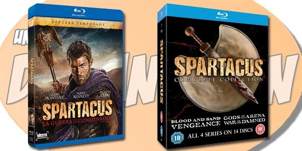 Spartacus: La Guerra de los Condenados - Formato domestico