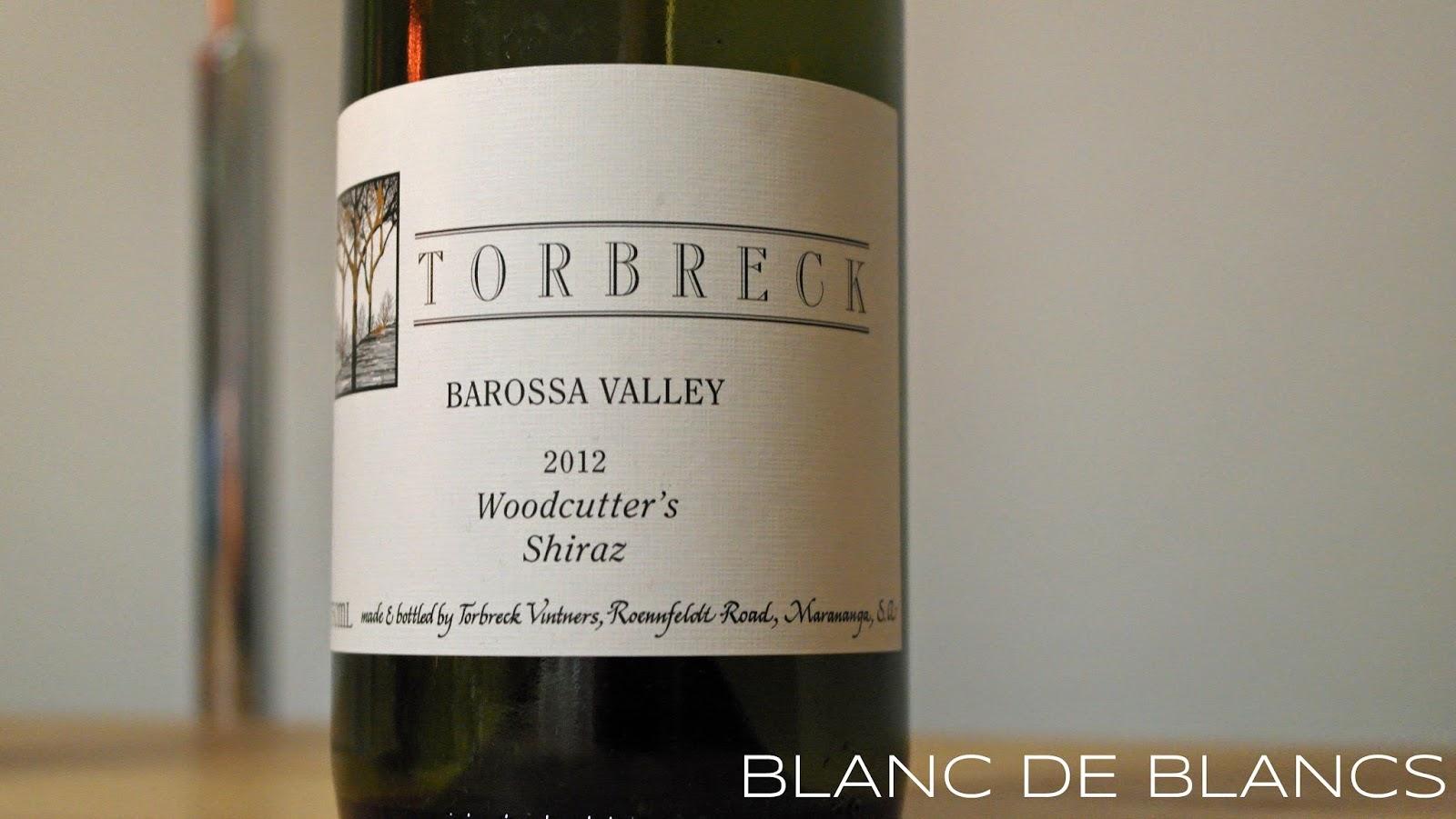 Torbreck Woodcutter's Shiraz 2012 - www.blancdeblancs.fi