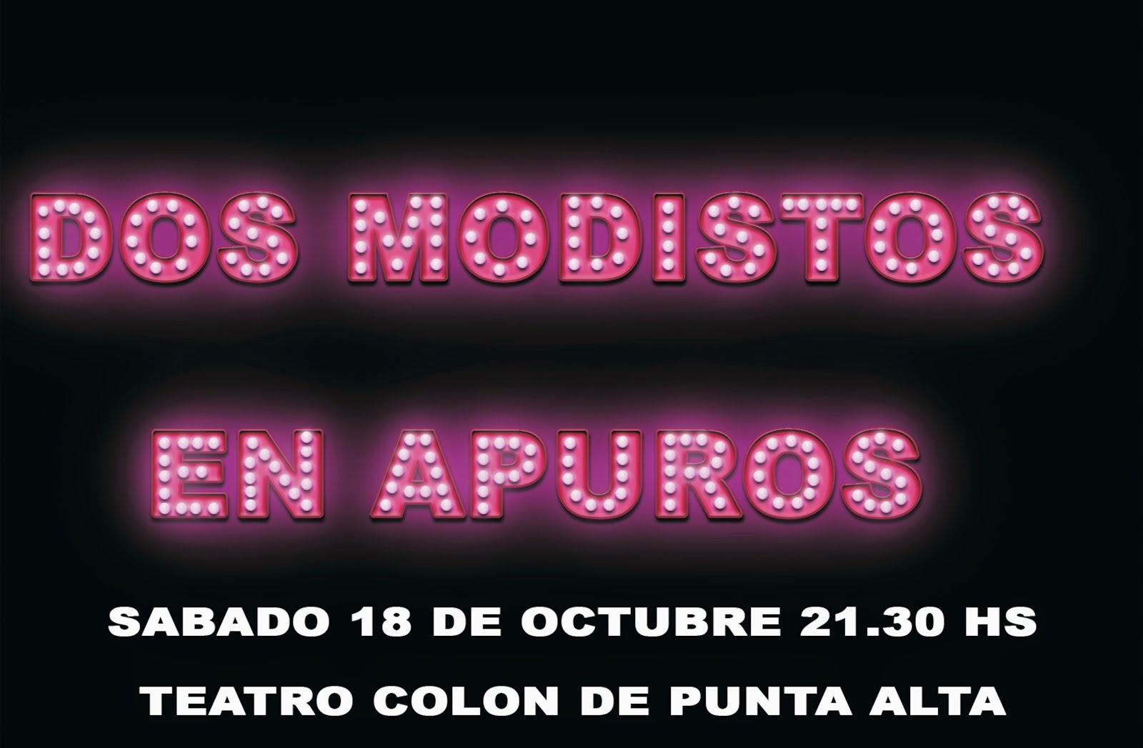 Funcion 18 de octubre en el teatro Colon de Punta Alta