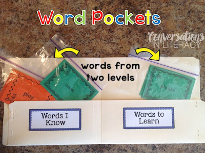 Sight Word Pockets