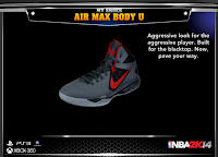 NBA 2K14 Nike Air Max Body U