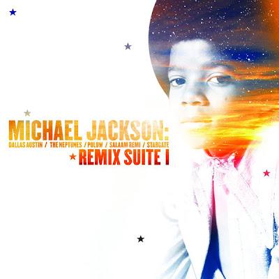 Michael Jackson - Remix Suite I - EP Cover