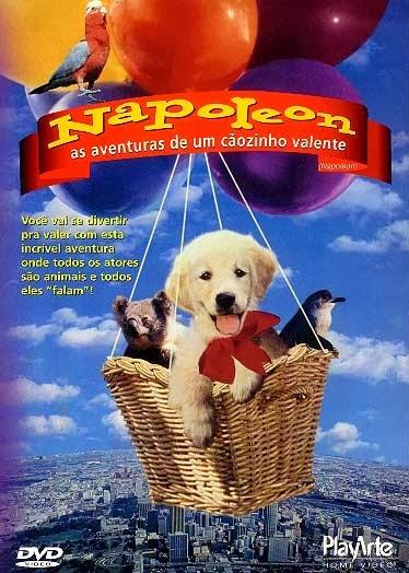 Napoleon: As Aventuras de um Cãozinho Valente – Dublado
