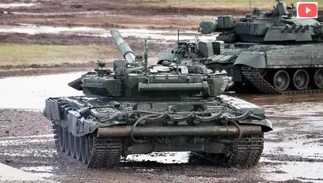 Βίντεο: Τ-90 του συριακού Στρατού κονιορτοποιεί θέσεις των ανταρτών στο Χαλέπι