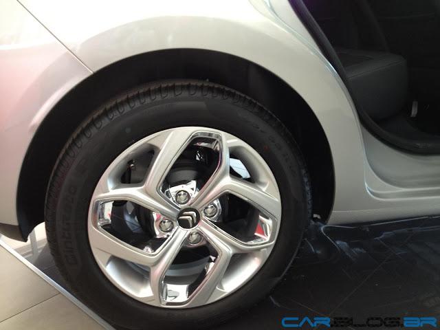 Novo Citroen C3 2013 - rodas