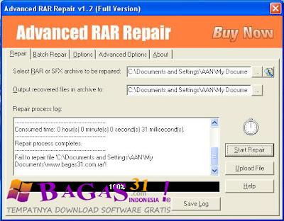 Advanced RAR Repair 1.2 Full Version 2