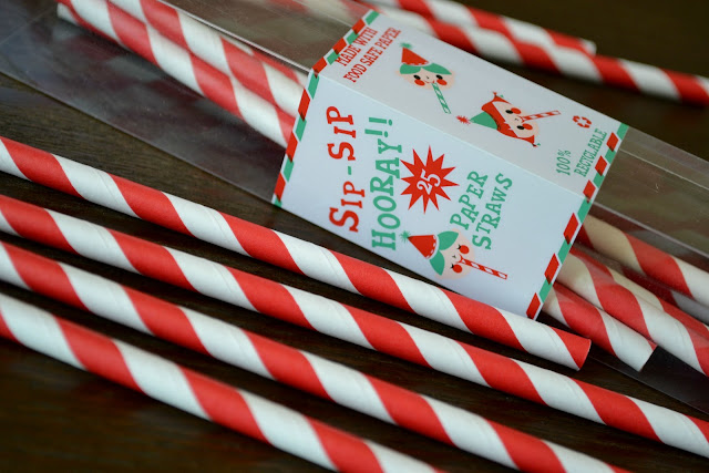 Paper straws from Birthday Express #cbias