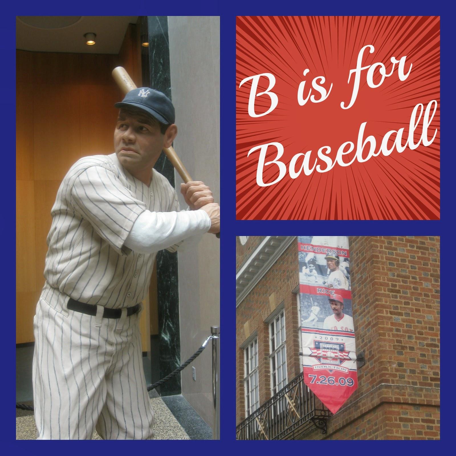 B is for Baseball (History Lesson) on Homeschool Coffee Break @ kympossibleblog.blogspot.com