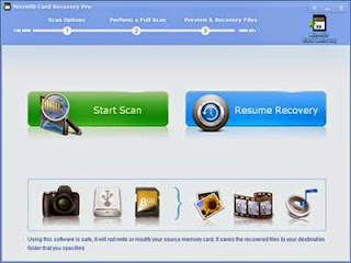 MicroSD Card Recovery Pro free card recovery software