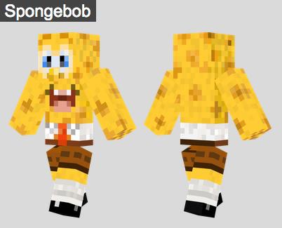 29. Spongebob Skin