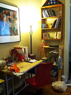 art studio of Ashlie Weisel