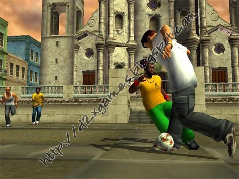 Free Download Games - Urban Freestyle Soccer