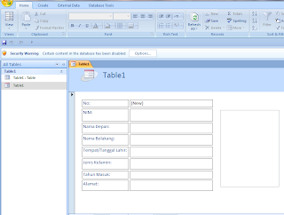 Form Input database-Design