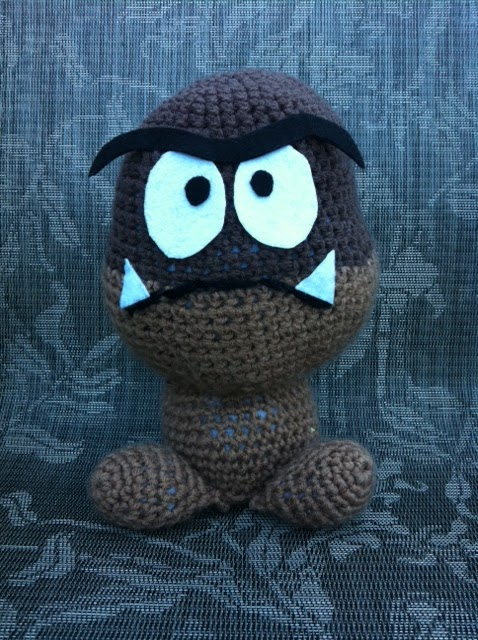Amigurumi Which Side Is Right Side : The Hook Brings You Back: Goomba: A Lesson in wrong side ...