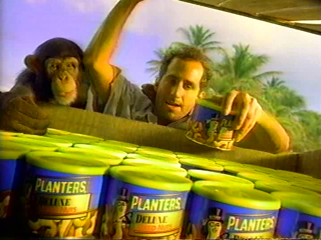 Peter Jacobson Planters Peanuts Commercial