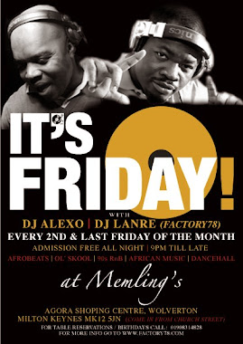 Second Friday & Last Friday of the month @ Memlings Bar Milton Keynes