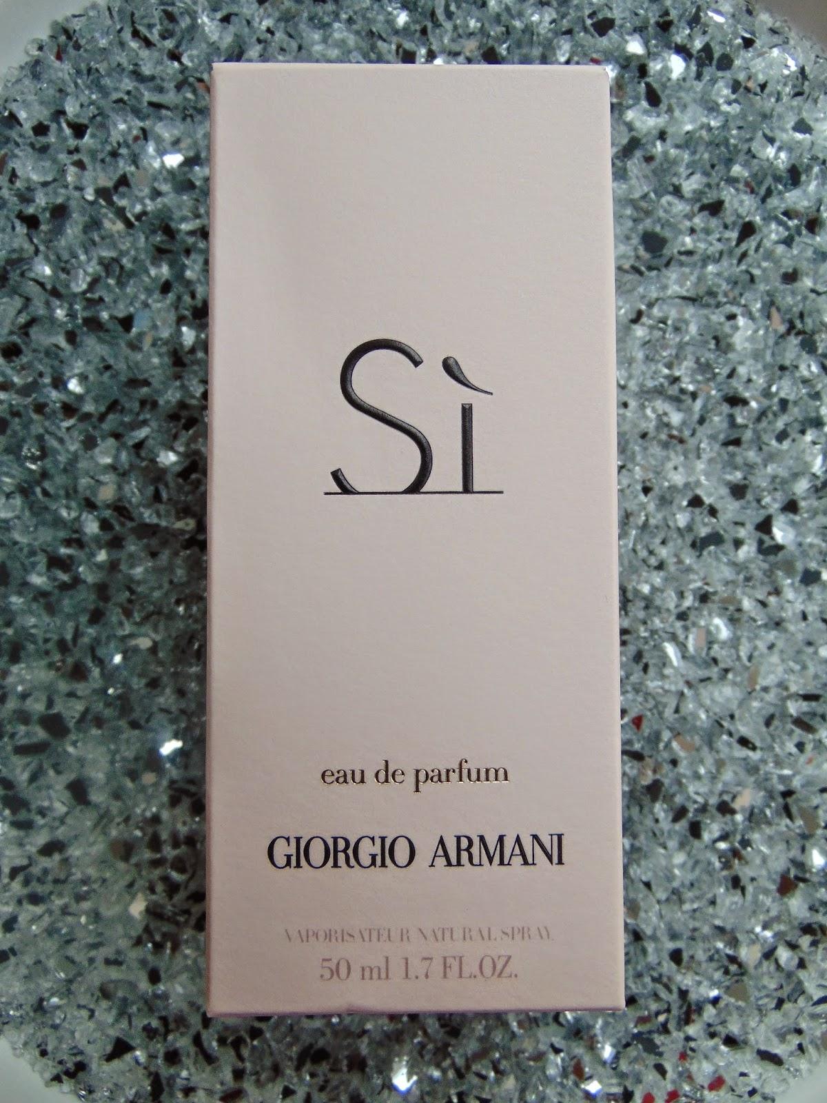 Parfum - Si Giorgio Armani - www.annitschkasblog.de