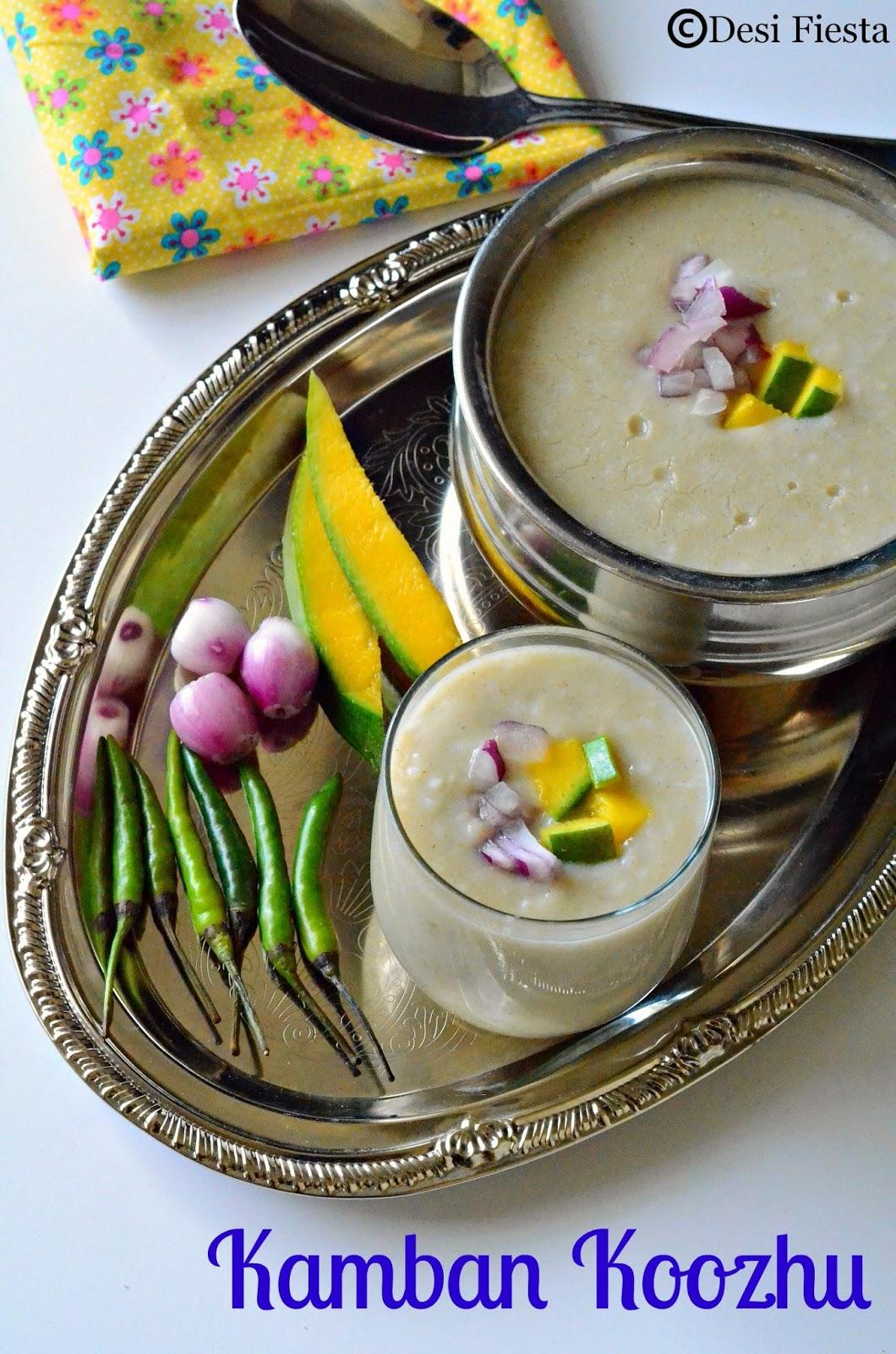 Bajra porridge