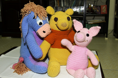 Pooh - Little Buddies crochet toy