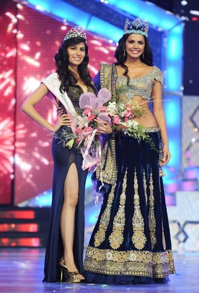 Vanya Mishra Pantaloons Femina Miss India 2012 Winner