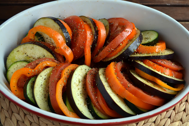 Ratatouille for Secret Recipe Club
