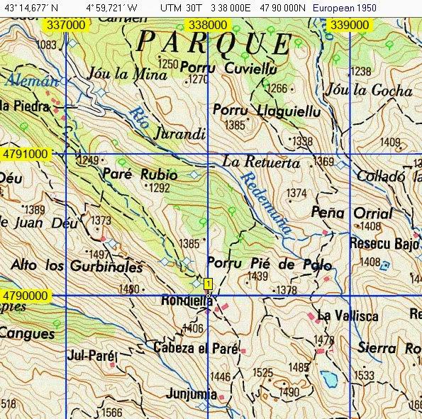 Grupo de Montaña Auseva de Oviedo - ASTURIAS: UBICACIÓN GEOGRÁFICA Y ...
