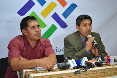 foto viceministro de Autonomías Indígena Originario Campesina y Organización Territorial, Gonzalo Vargas