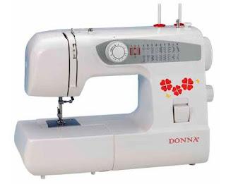 maquina de coser domestica donna zig zag varias puntadas