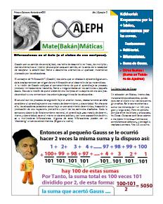 Aleph 2