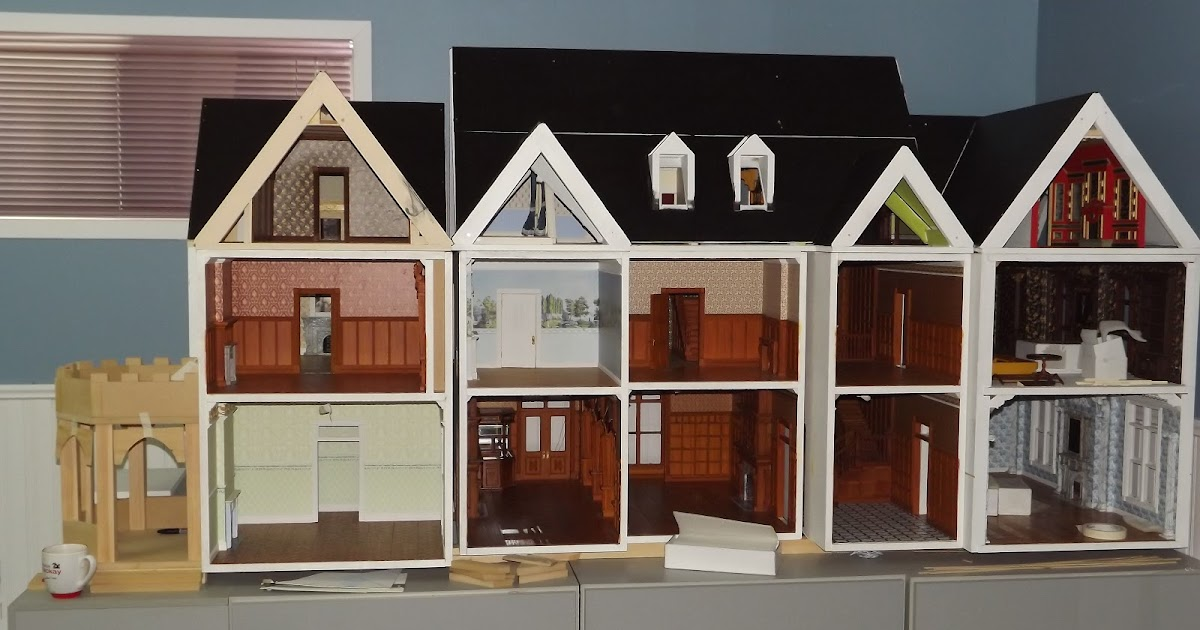 Building A Dollhouse From Scratch - House Design And Decorating Ideas