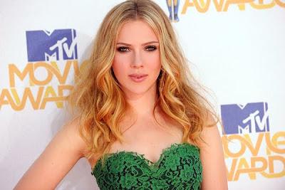 Scarlett Johansson in Green