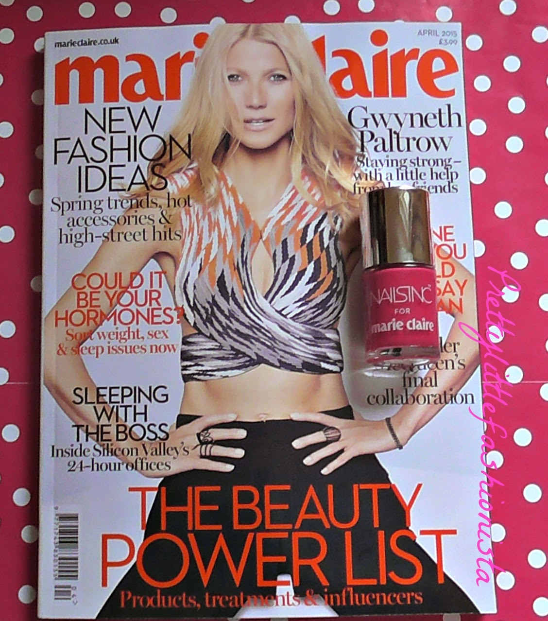 Marie Claire Magazine Freebie (April 2015)