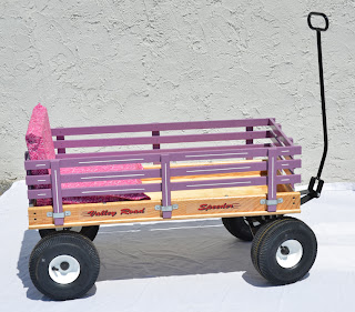 Valley Road Wagon Lavender Racks