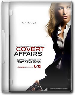 Covert Affairs 2ª Temporada HDTV Avi + Rmvb Legendado
