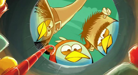 New Angry Birds Version Halloween Game Will Coming Soon On
