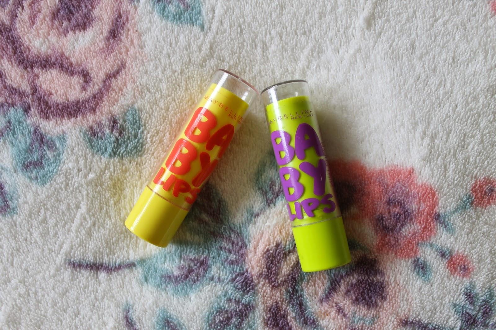 Top 5 Lip Balms Maybelline Baby Lips