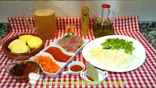 ingredientes marmitaco de bonito