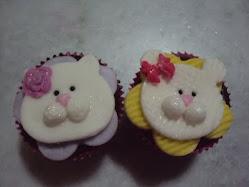 Cupcakes Gatinhas.