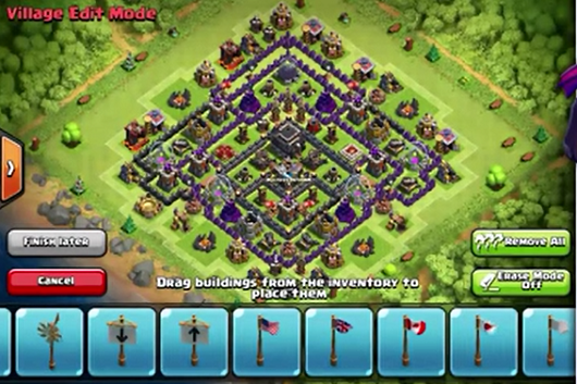 New Layout Th9 With Air Sweeper Layout With 2 Air Sweeper
