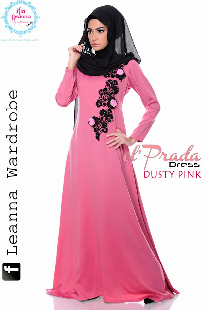 el'Prada Dress -Dusty Pink