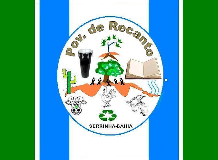 Bandeira da comunidade do Recanto