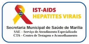 SAE/CTA - Serviço de Atendimento Especializado / Centro de Testagem e Aconselhamento