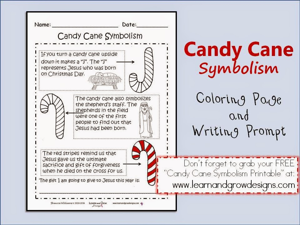 Learn and Grow Designs Website The Legend of the Candy Cane Book