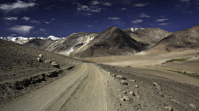 Marsimik LaAt 5,582 metres (18,314 ft) this pass in northern India is often considered to be the highest navigable road in the world.