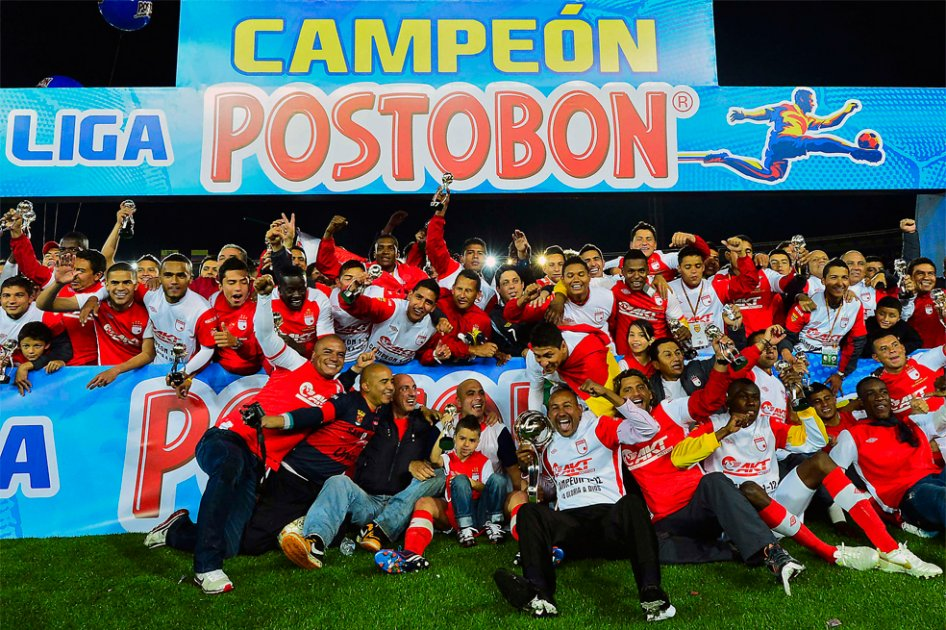 Santa Fe, campeón Liga Postobon I