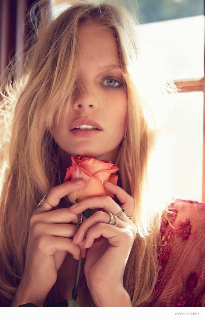 Free People collaborates with For Love and Lemons on a lingerie collection for Fall 2014