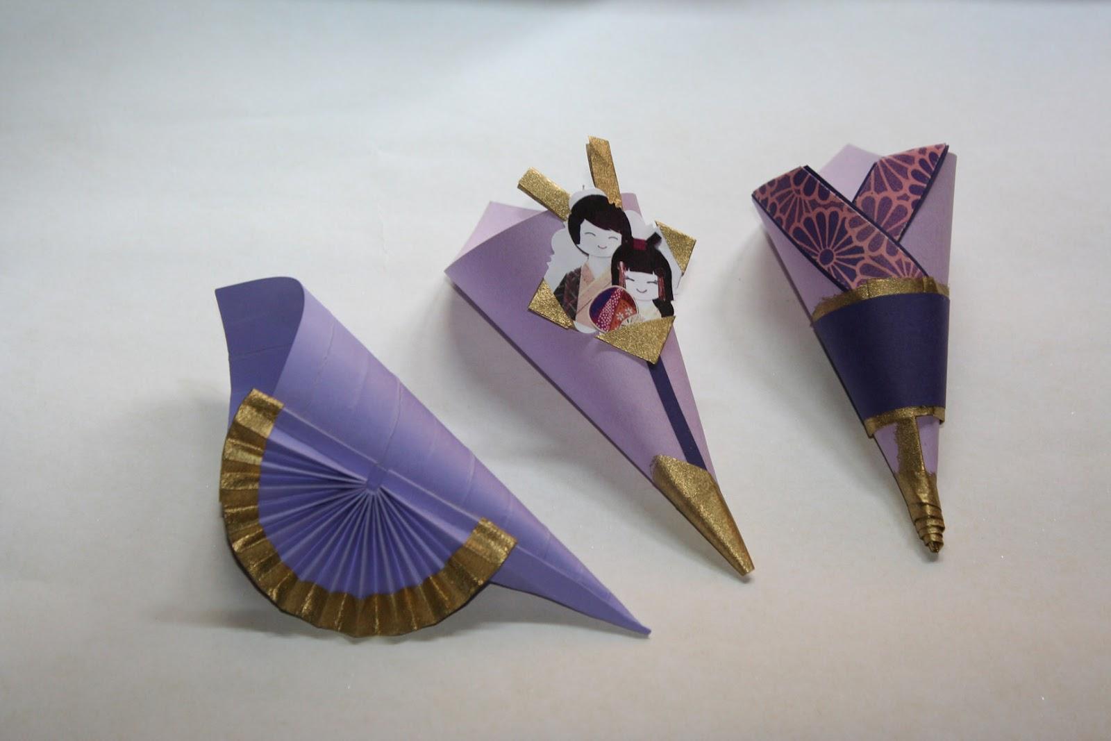 Famoso cornetti matrimonio stile giapponese   Kartouche! Atelier Artistico FM39
