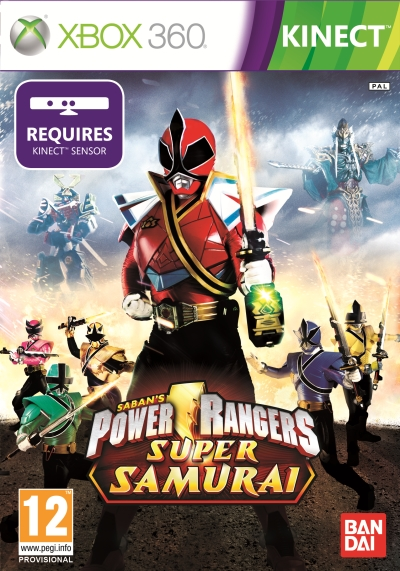 Power Rangers Super Samurai Xbox 360 NTSC/U DVD9