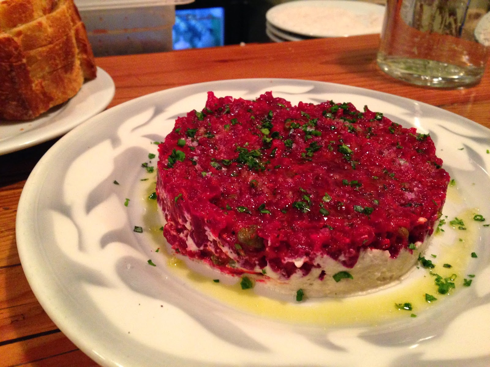 Beet Tartare from Portobello in Portland, OR | The Economical Eater