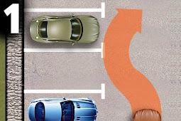 Belajar Cara / Tehnik Parkir Mobil